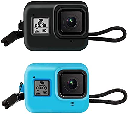 Patalachi Silikon Kameratasche 2 Set Kamera Schutzhülle Kamera
