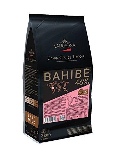 Valrhona Single Origin Grand Cru Chocolate Bahibé Milk 46% cocoa 30% sugar 43% fat content - 3Kg. - Feves by Valrhona