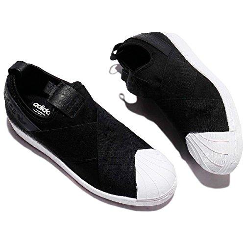 ペック封建奨学金adidas ORIGINALS アディダス オリジナルス スニーカー 靴 シューズ 黒 スリッポン SS SlipOn SUPERSTAR BZ0112