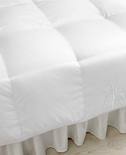 Lauren Ralph Lauren 500 Thread Count Dobby Stripe King Down (Ralph Lauren Comforter Cover)