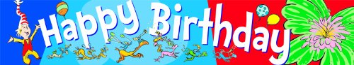 Eureka Dr. Seuss 'Happy Birthday' Board Trim and