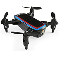 Kanzd JJRC H53W Mini Foldable Pocket Drone Mini FPV Quadcopter Selfie 480P Wifi Camera