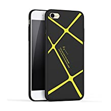 ?New products?HX 415 iphone case 6,iPhone 6S Case, iphone case/Apple iPhone 6/6s Case bumper Cover ,Striped protective shell for iphone 6,iphone 6s (4.7)- yellow stripes