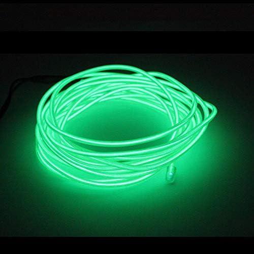 Rose 1m Wire Fil Neon Flexible Lumiere Int/érieur LED EL Fil Bande Tube Corde N/éon Lueur Lumi/ère Ligne D/écoration N/éon Lumi/ères