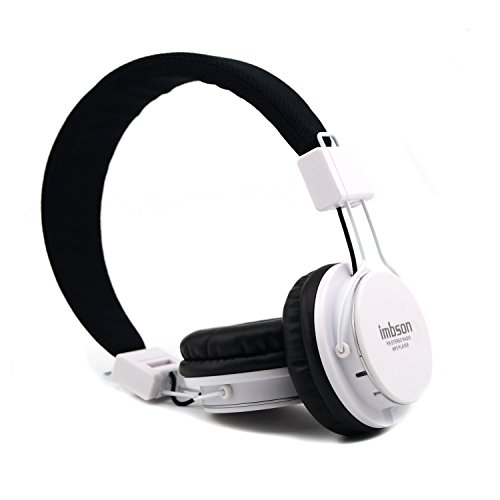 GranVela A802 Wired Over-Ear Headphones, Foldable 4 in 1 - Import It All