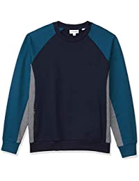 Lacoste Men's Motion Long Sleeve Quick Dry Sweatshirt