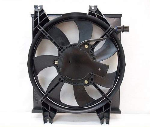 Automotive Cooling AC Condenser Fan Assembly For Hyundai Accent HY3113104 100% Tested