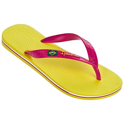 Classic pink Yellow 80408 Brasil Ipanema Femme Fem 8549 Tongs Ii 7npwq