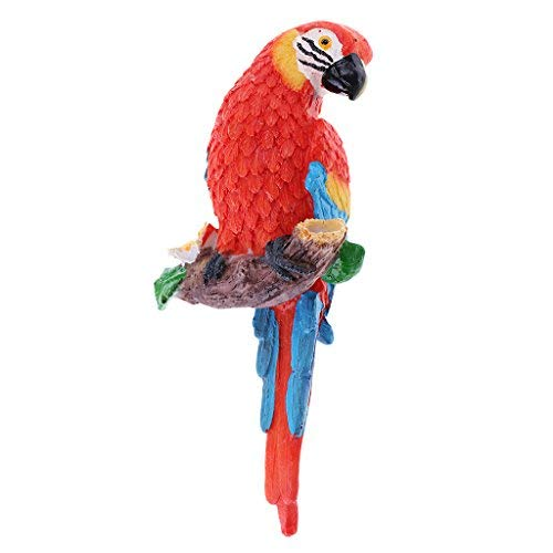 - The Lakeside Collection Tropical Metal Sculptures - Parrot