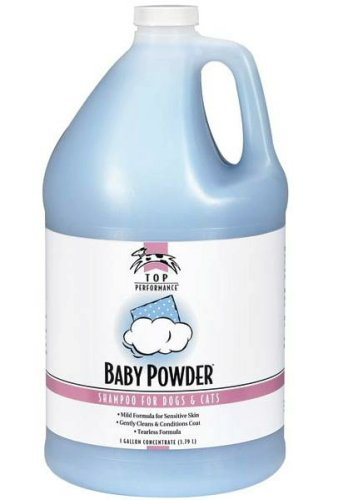 PetEdge Top Performance Baby Powder Shampoo Gallon