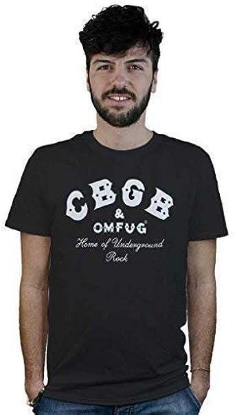 Camiseta CBGB, T-Shirt Negra, Club Rock, Templo de la música en Directo Hardcore Punk 70: Amazon.es: Ropa y accesorios