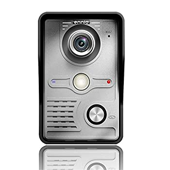 Mountainone 7 Inch Video Door Phone Doorbell Intercom Kit 1-camera 1-monitor Night Vision 7