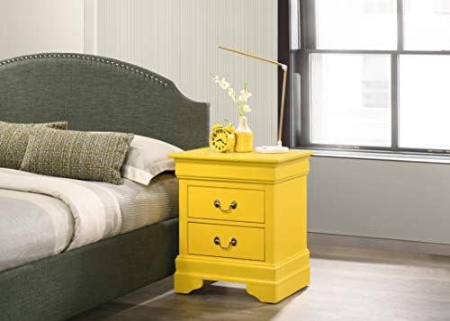 home, kitchen, furniture, bedroom furniture,  nightstands 8 image Glory Furniture Hammond Bedroom Furniture, 2 Drawer NightStand in USA