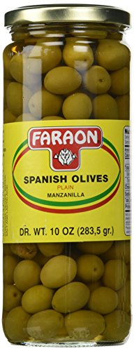 (FARAON Olives Plain, 10 Ounce (Pack of 12))