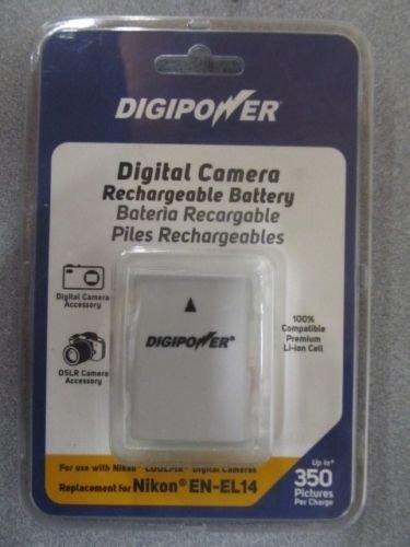 (DIGIPOWER Digital Camera Rechargable Battery replacement for Nikon EN-EL14)