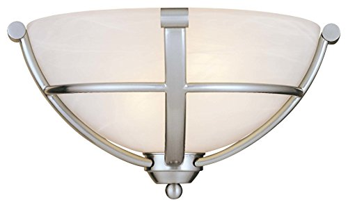 Minka Lavery Minka 1420-84 Transitional Two Light Wall Sconce from Paradox Collection in Pwt, Nckl, B/S, Slvr.Finish