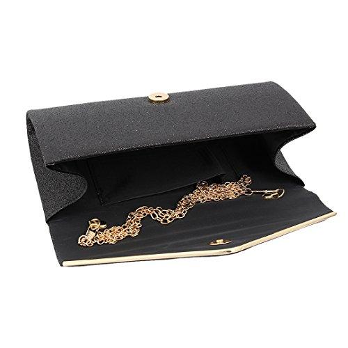 Boutique Femme Pochette Noir Pour Novias Champagne 6zgZBZx