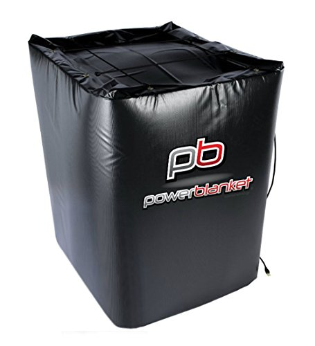 Powerblanket 250 Gallon IBC Tote Heater TH250-240V Insulated IBC Storage Tote Heater w/Thermostat Controller, 145 deg F, 240V by Powerblanket