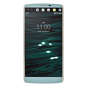 LG V10 H900 64GB Unlocked GSM 4G LTE Hexa-Core Smartphone w/ 16MP Camera - Opal Blue