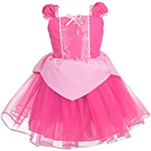Dressy Daisy Baby & Toddler Princess Sofia Dress Belle Dress Aurora Dress Costume Summer Dress up