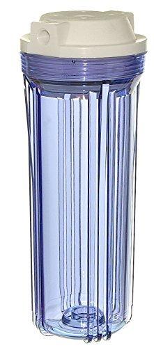 2-Pack iSpring HC12X2 Transparent Water Filter Housings