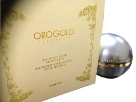 24K Oro Gold MEN After Shave Balm by Orogold