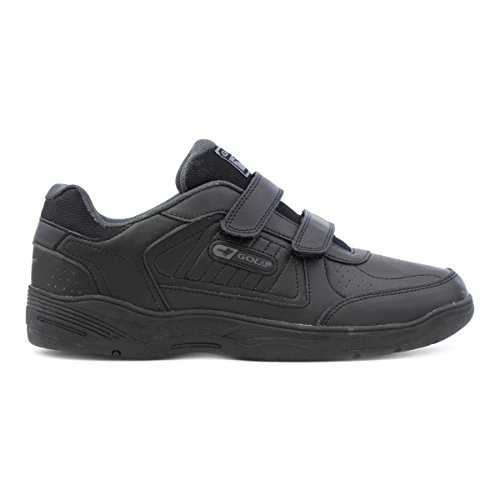 Gola Mens Noir Facile Attache Sport Sneaker Noir