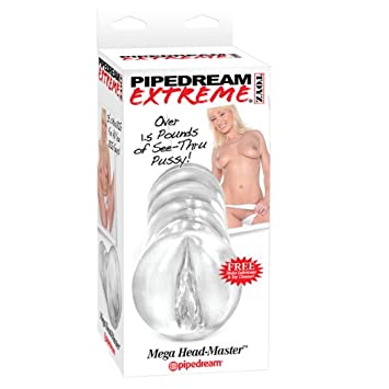 Pipedream Extreme Mega Head Master Hand Help Masterbator With Free Id Glide