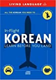 img - for In-Flight Korean: Learn Before You Land book / textbook / text book