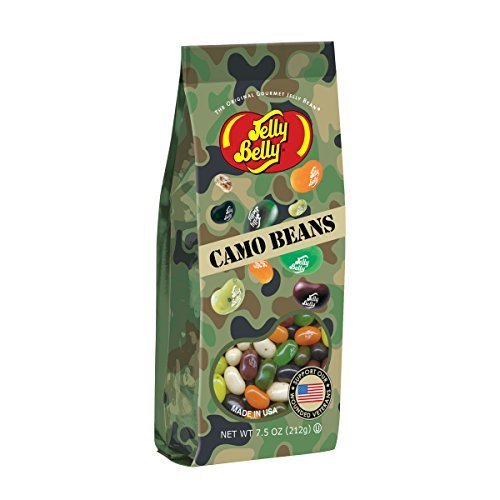 Jelly Belly Camo Jelly Beans 7.5 oz Gift Bag