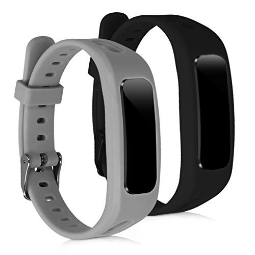 kwmobile Silicone Watch Strap for Huawei Honor Band 3e - 2X