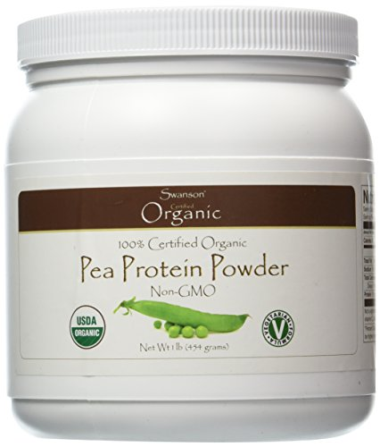 Swanson 100% Certified Organic Pea Protein Powder