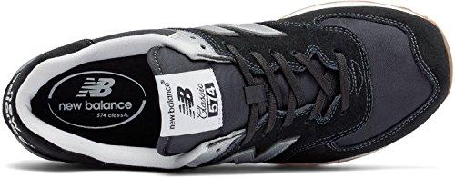 New Balance, Sneaker uomo nero Black