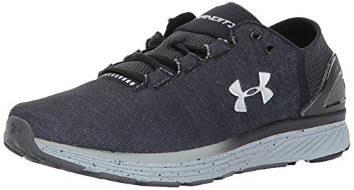 Under Armour Men's Charged Bandit 3 Running Shoe, Stealth Gray (008)/Black, 11