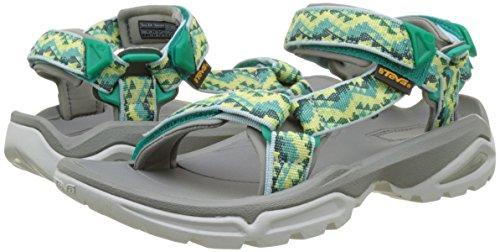 Teva Green W Femme Sea Sandales Vert Terra Ouvert Bout 4 Fi palopa qFPp7Arqf