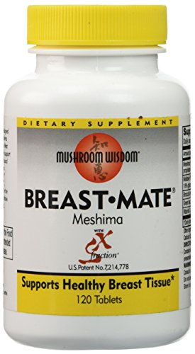 Mushroom Wisdom Breast-Mate Vegi-Tablets, 120 Count