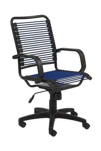 Blue Bungee Office Chair, Funky Look & Great Comfort