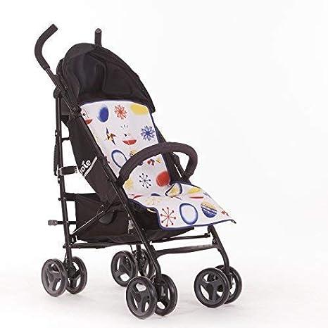 SLEEPAA Colchoneta Silla Paseo Ligera Universal Transpirable Carrito Bebé Antisudoracion Ajustable Fabricada en España Varios modelos (Jungle Rock): ...