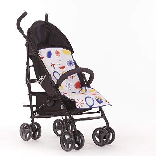 SLEEPAA Colchoneta Silla Paseo Ligera Universal Transpirable Carrito Bebé Antisudoracion Ajustable Fabricada en España Varios modelos (Star Tiger)