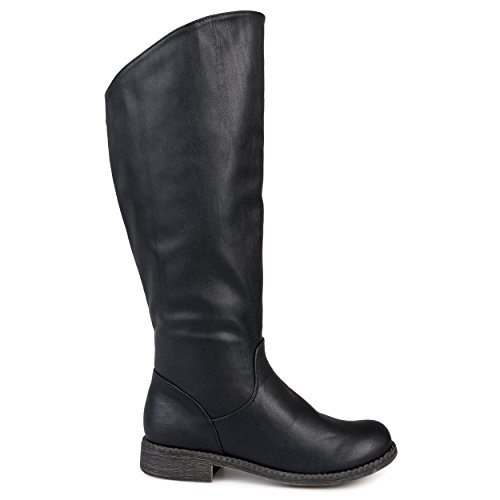 Cheap Leather Riding Boots - 5