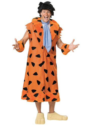 Halloween Costumes For Teenagers Guy (Fred Flintstone Plus Size Costume 3X)
