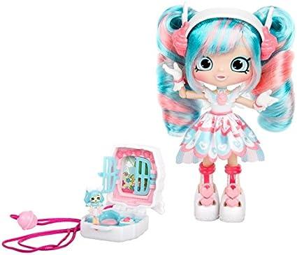 Shopkins Lil Secrets Teeny Pocket Shoppie Set 6 Mini Shopkin Doll Lockets