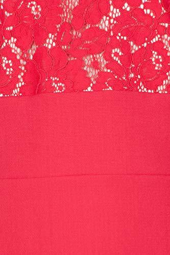Rojo Mujer 19 2018 winter Fall Jucca J2827010 Vestido fTE1q1
