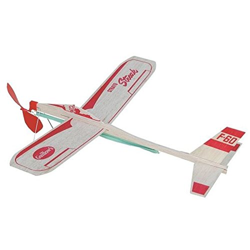 Strato Streak Rubber Band Powered Glider Guillows