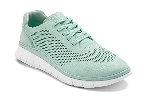 Vionic Women's Fresh Joey Lace-up Sneaker- Lades Light Weight Walking Sneakers with Concealed Orthotic Arch Support Mint 8M US