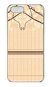 Angelic Decorations PC Case Cover for iPhone 5 and iPhone 5S Transparent