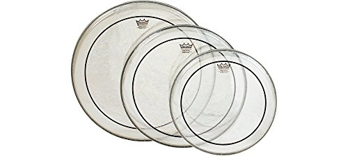 Remo Pinstripe Clear Drumhead Fusion Pack