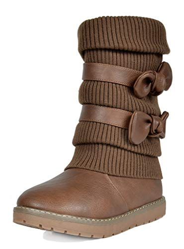 Top recommendation for girls boots brown size 3