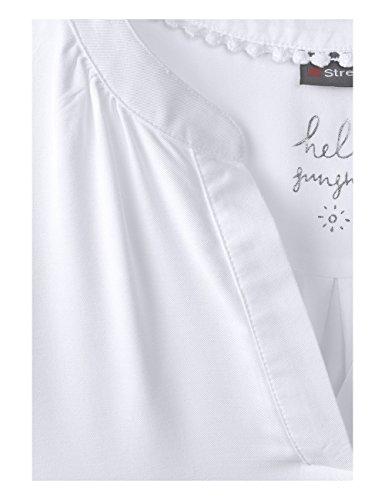 10000 Blanc White One Femme Street Blouse qAwT4xUnZ