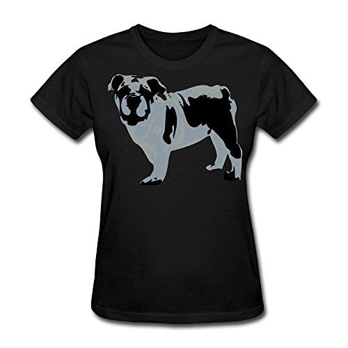 TAUYOP Women's Savana T-shirts Black S